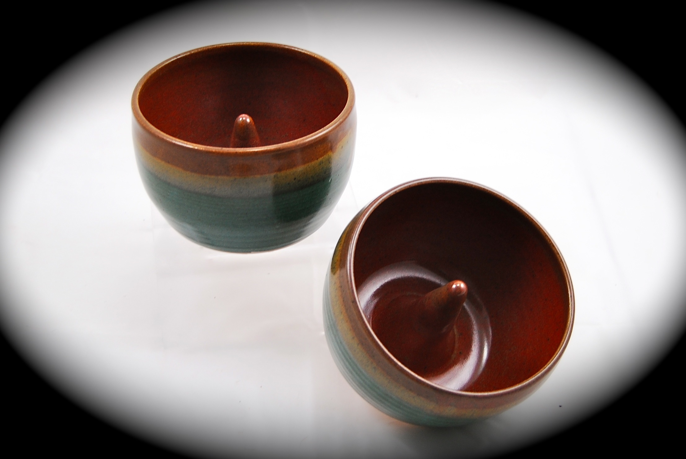 handmade pottery pieces